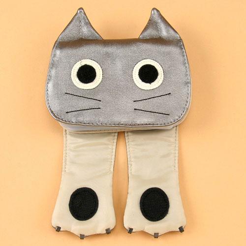 猫カードファイル ダークシルバー