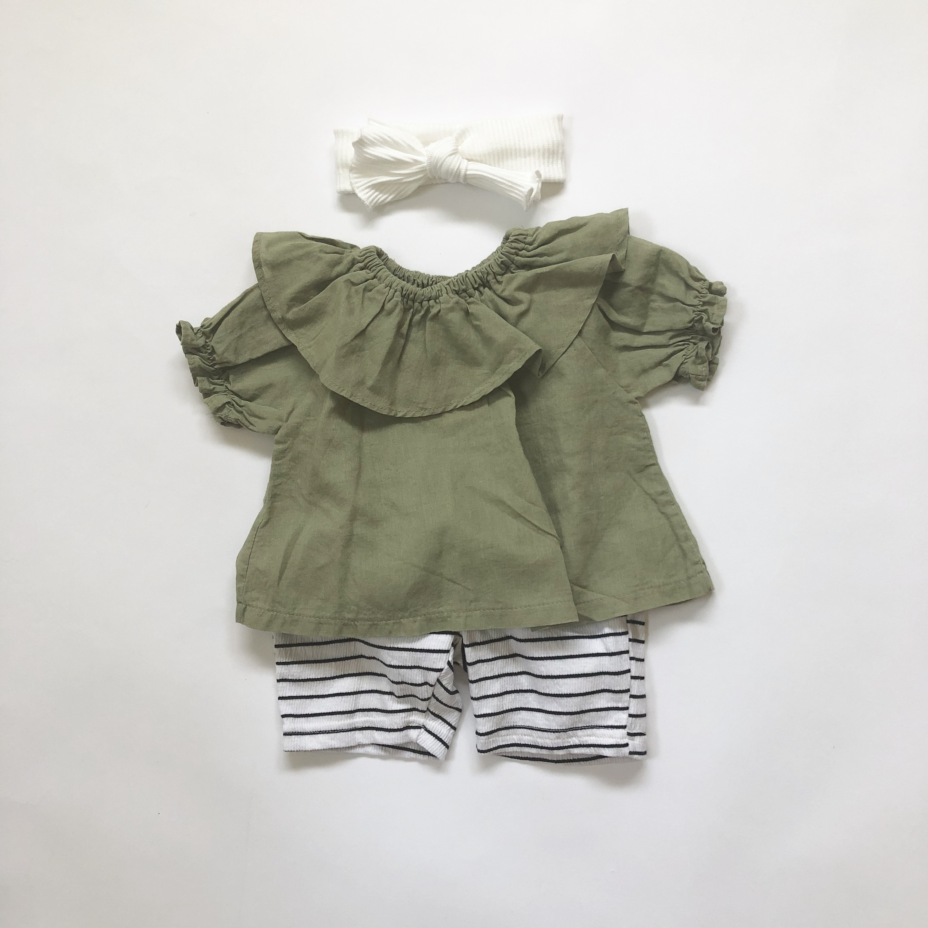 〈 210 〉Lilo frill shirt