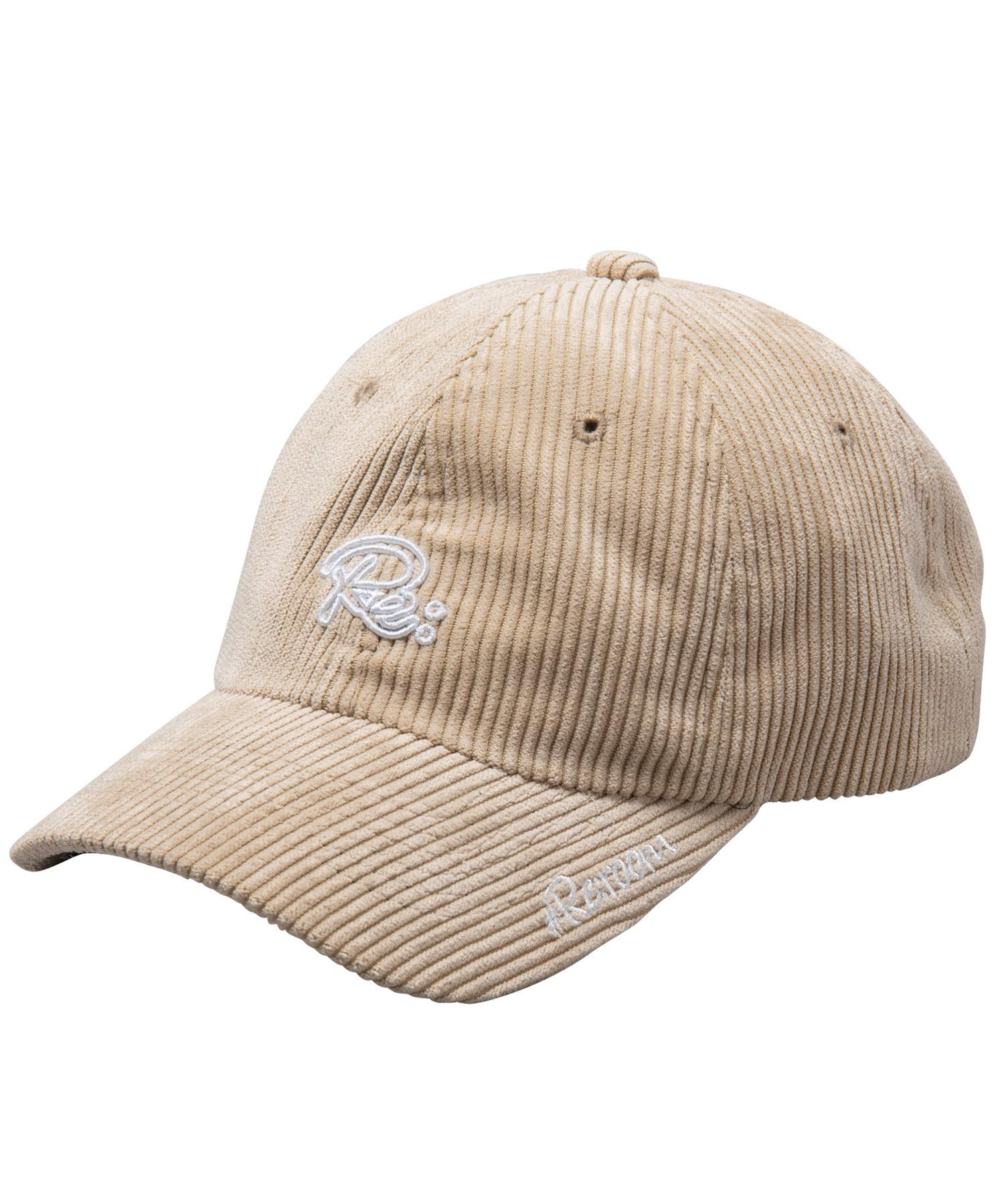 Re LOGO CORDUROY CAP[REH065]