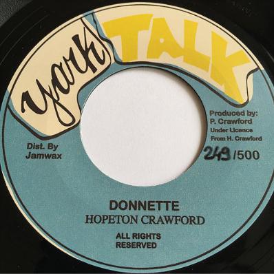 Hopeton Crawford (ホープトンクロフォード) - Donette【7'】