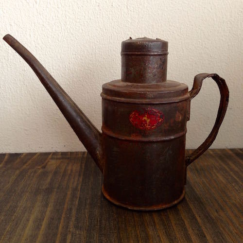 Industrial Oil Can Pitcher