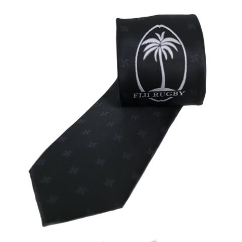 Fiji Rugby Tie Black