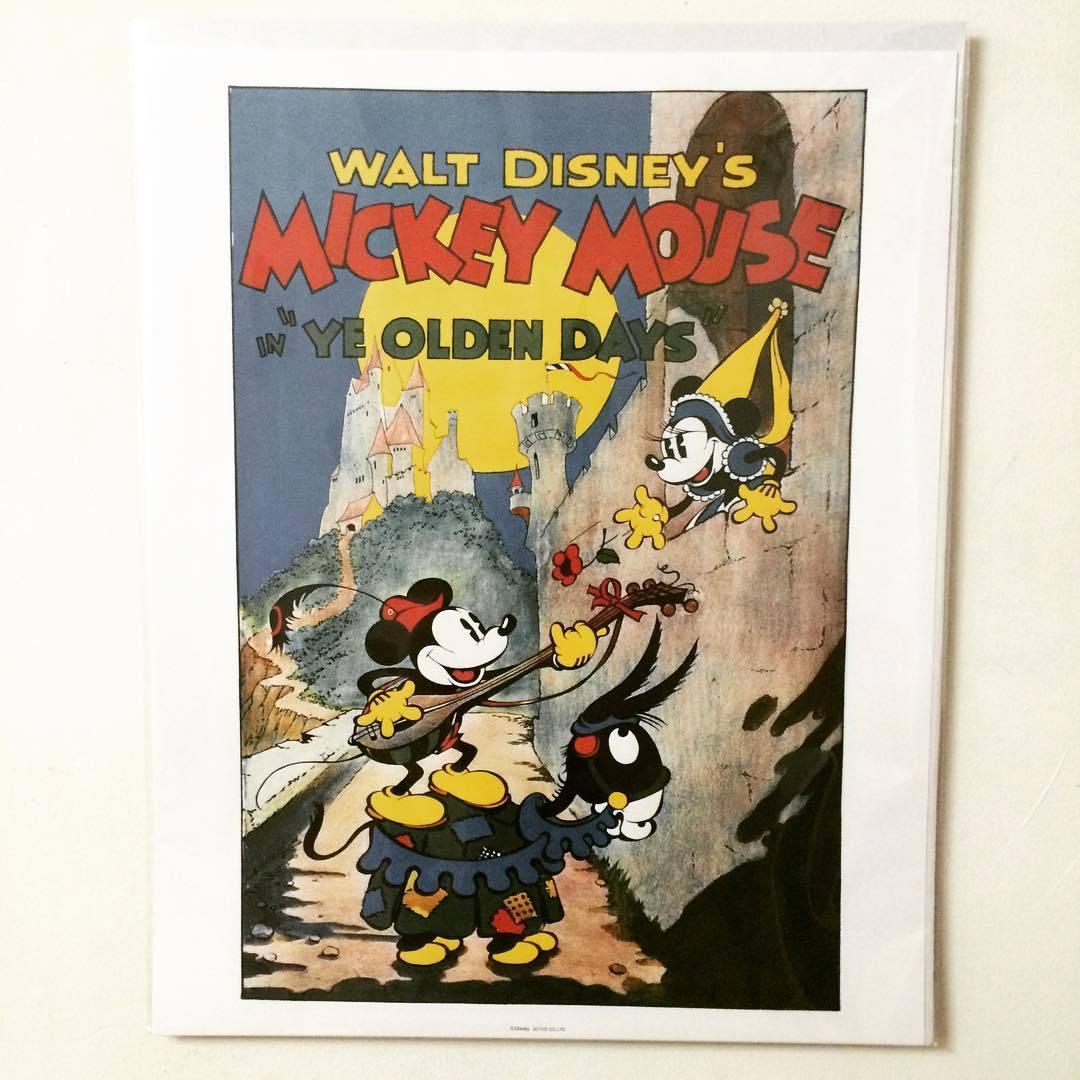 ポスター「ディズニー ミッキーマウス ミッキーの騎士道」 - 画像1
