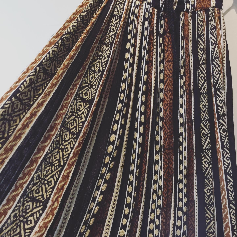 vintage design rayon skirt