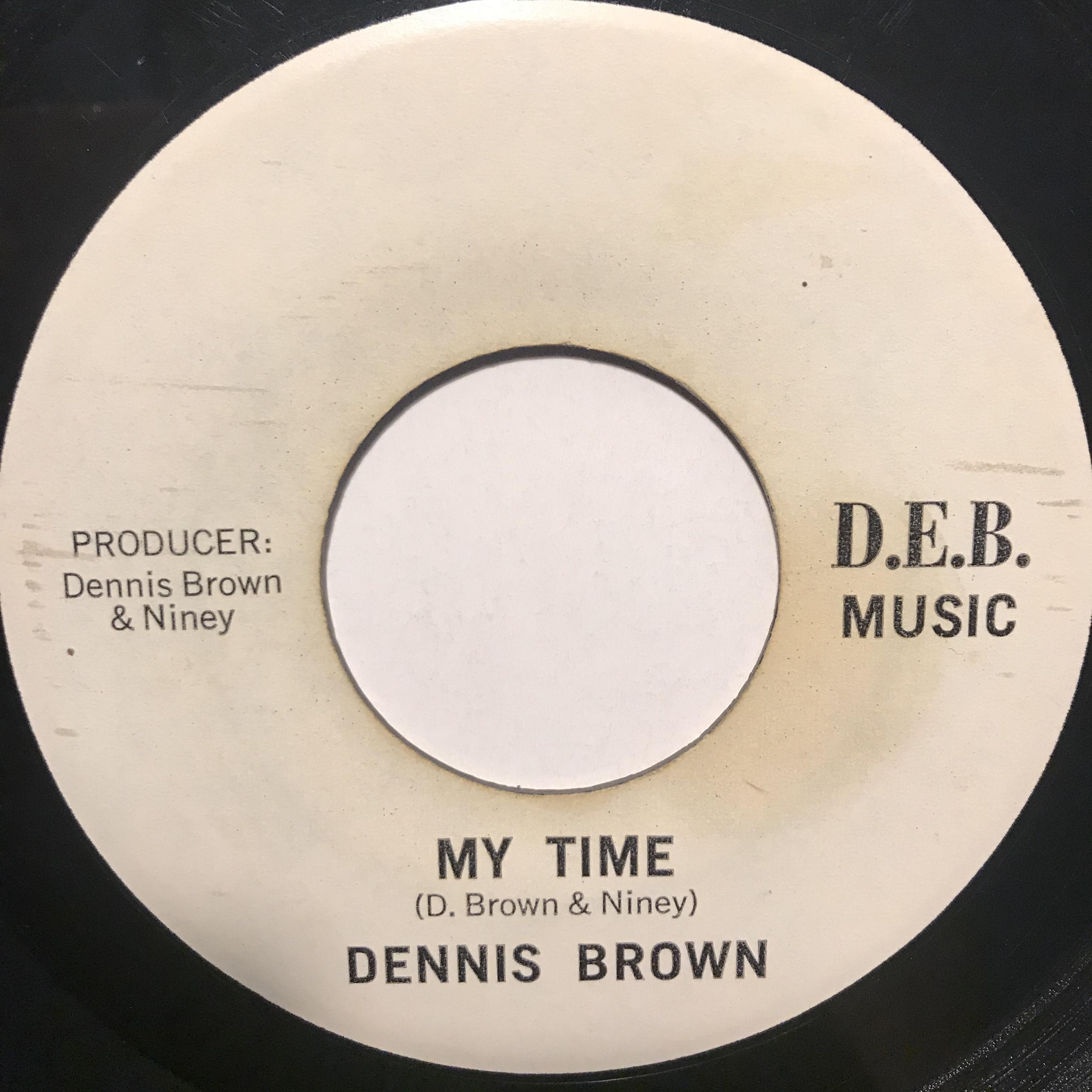 Dennis Brown - My Time【7-10857】