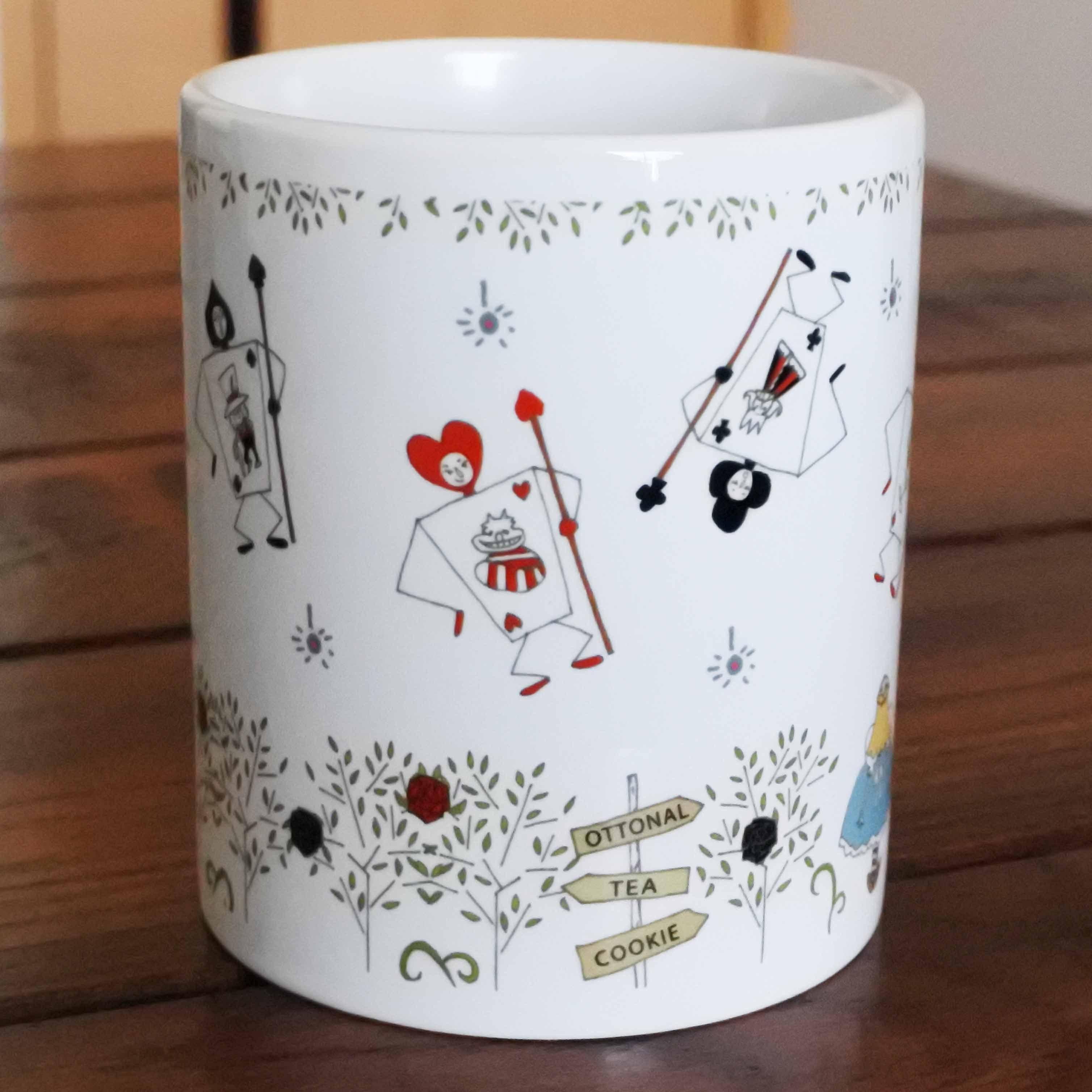 アリス マグカップ - 画像2