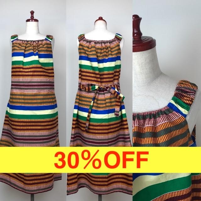らくらくリゾートワンピース 16(日本縫製)【30%OFF】