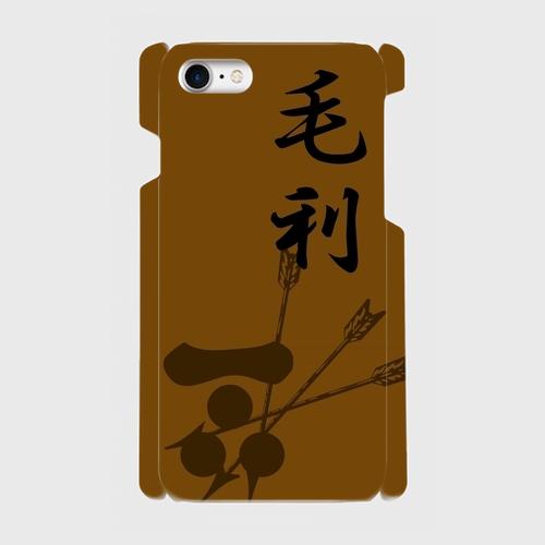 毛利氏家紋 / iPhoneスマホケース(ハードケース)