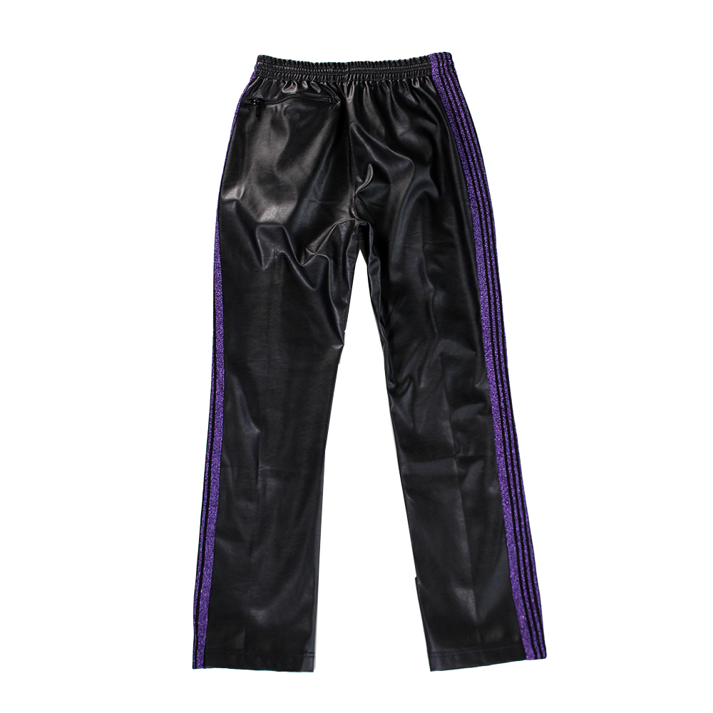 NEEDLES Leather Track Pants
