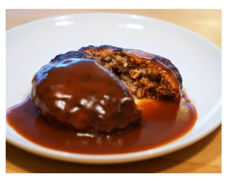 冷凍ハンバーグステーキ(ソース付)(150g) - 画像1