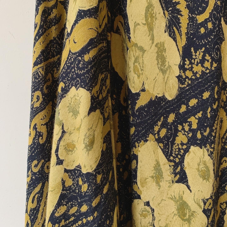 vintage paisley design skirt