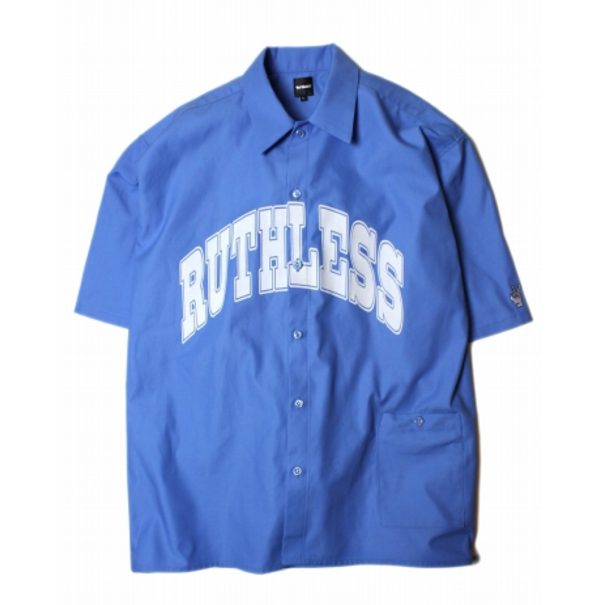 RUTHLESS #College Logo S/S Shirts Sax