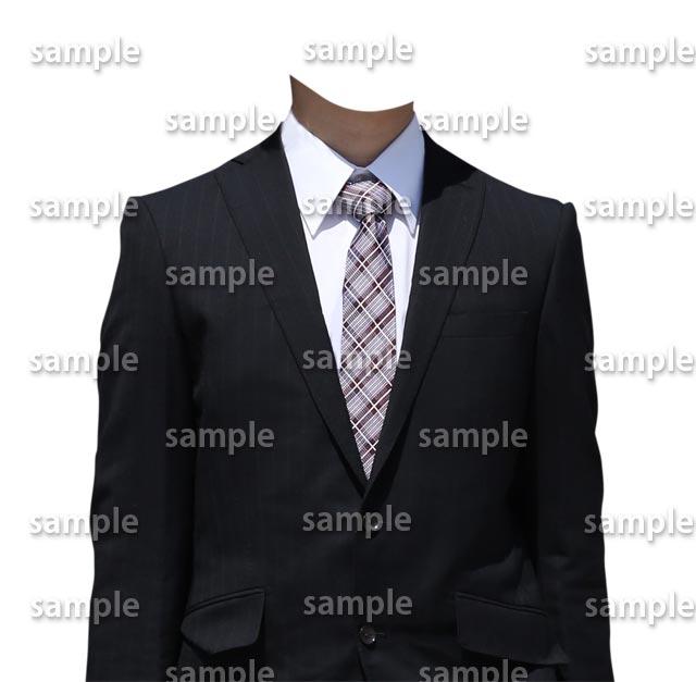 男性ビジネススーツ正面