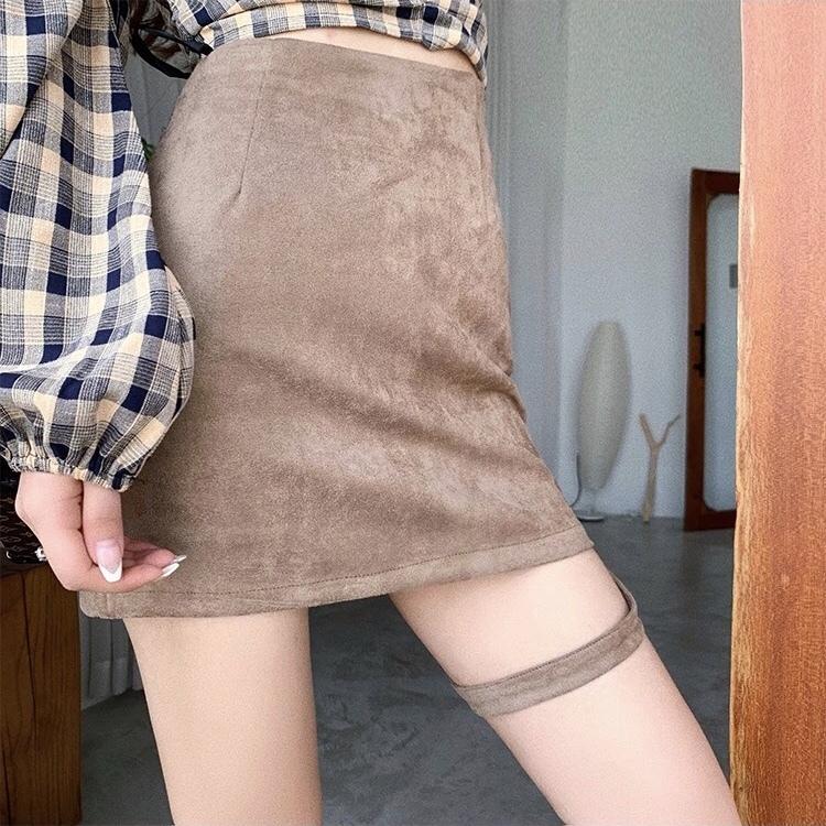herness velvet skirt
