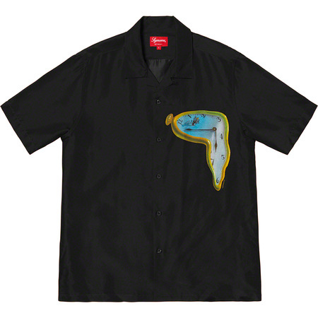 Supreme The Persistence of Memory Silk S/S Shirt