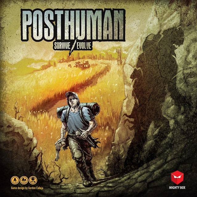 ポストヒューマン(Posthuman)日本語説明書・シール付き