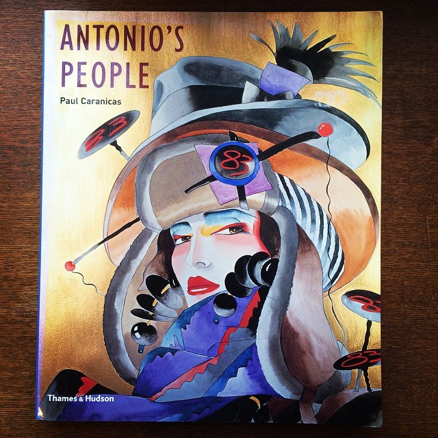 イラスト集「Antonio's People/Antonio Lopez」 - 画像1