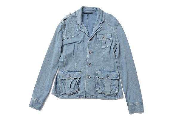 Ralph lauren sizeL denim breach jacket/vintage proccing