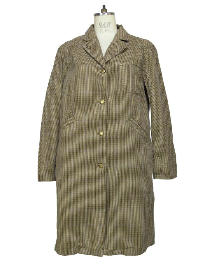 houndstooth Shop-coat - 画像1