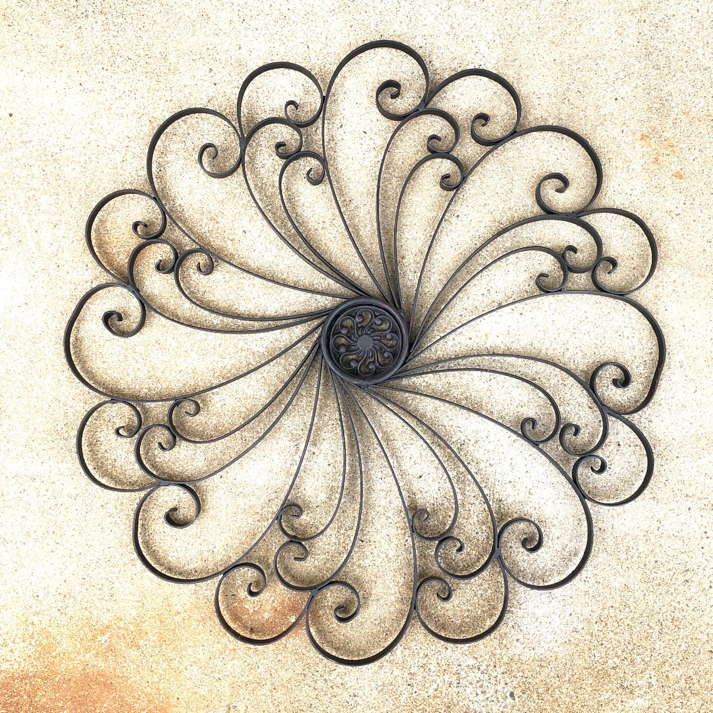 品番1329 花形 ウォールデコ 壁飾り 装飾品 インテリア 鉄製 ヴィンテージ 011