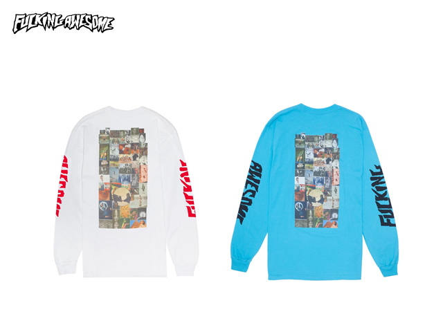 Fucking Awesome|Collage L/S Tee