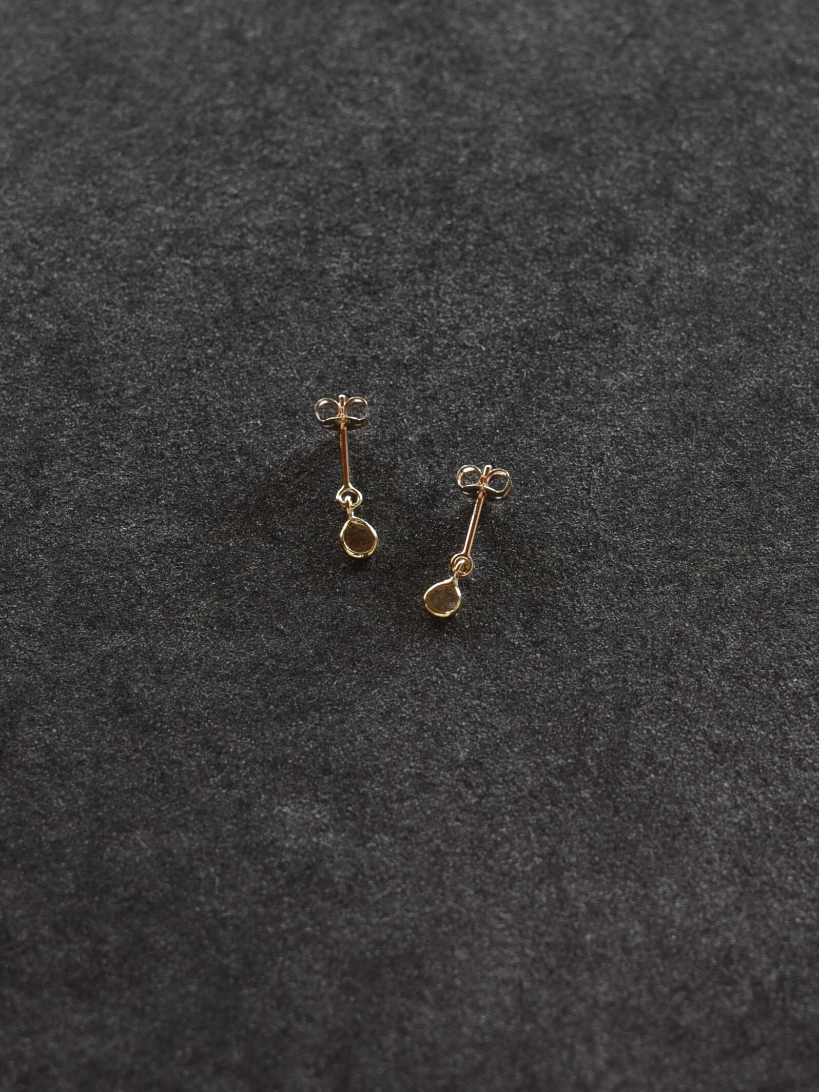 accessories mau|P-113 スライスダイヤモンドピアス