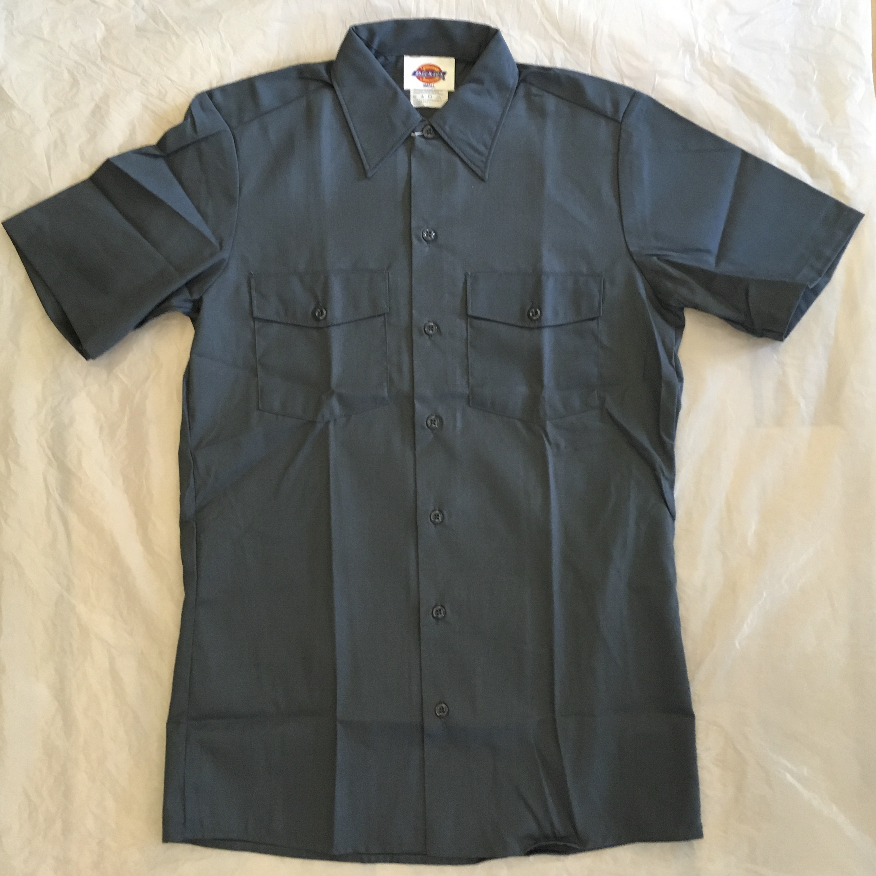 "Dickies SHORT SLEEVE WORK SHIRT-AF ""Made in USA""<Deadstock>"