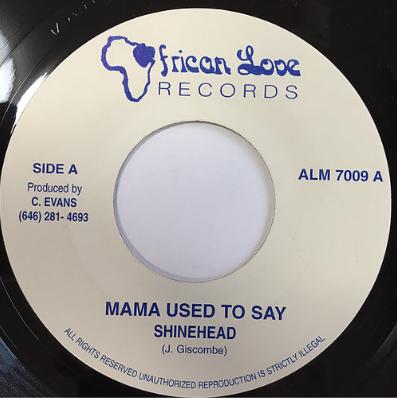 Shinehead(シャインヘッド) - Mama Used To Say【7'】