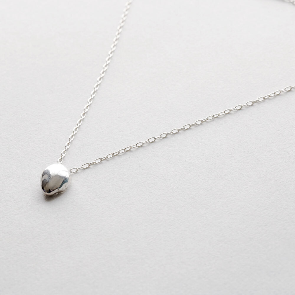 wave / necklace (silver)