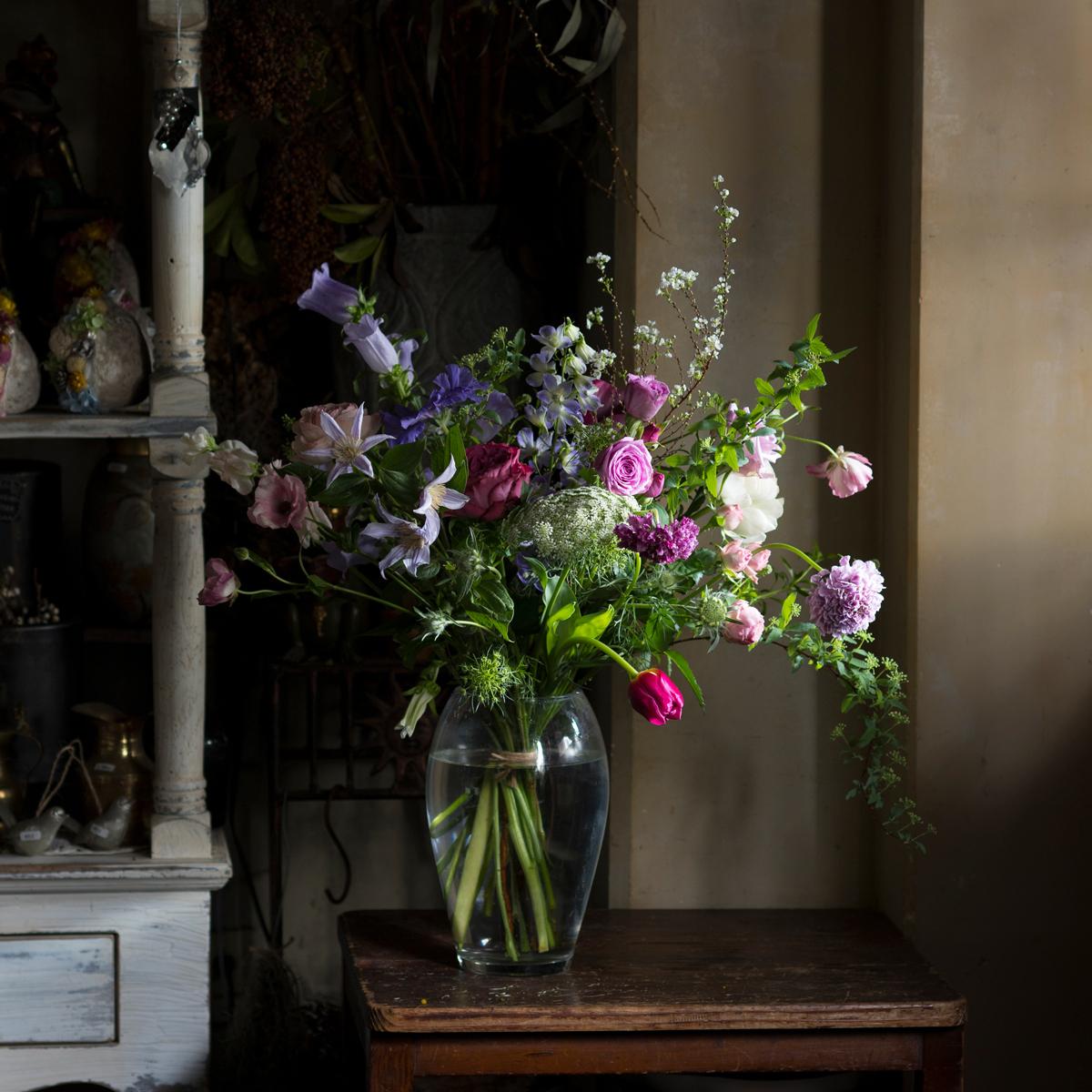 jardin nostalgique 店頭からお届け!季節の花いろいろL