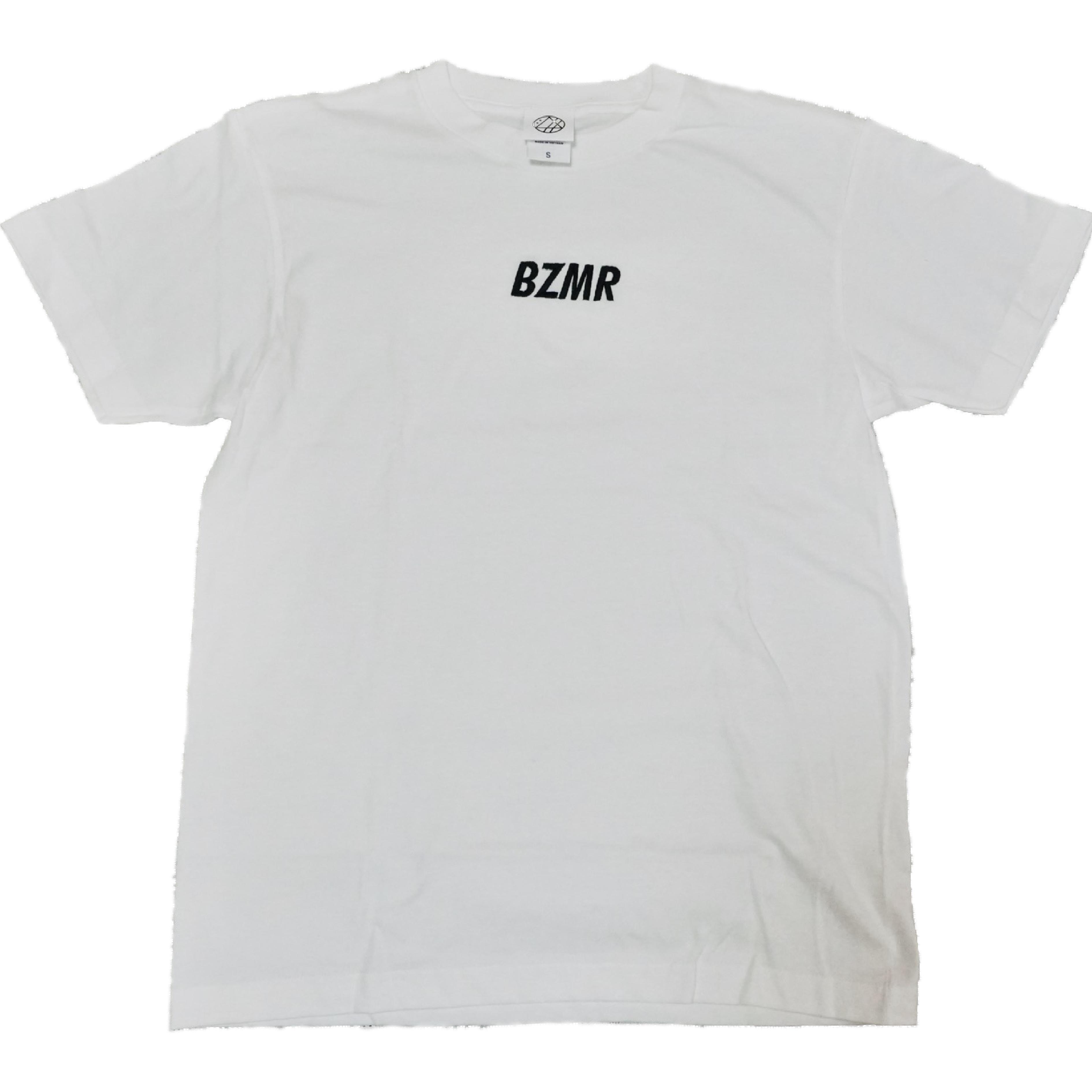 BZMRシンプル刺繍Tee (ホワイト) - 画像1