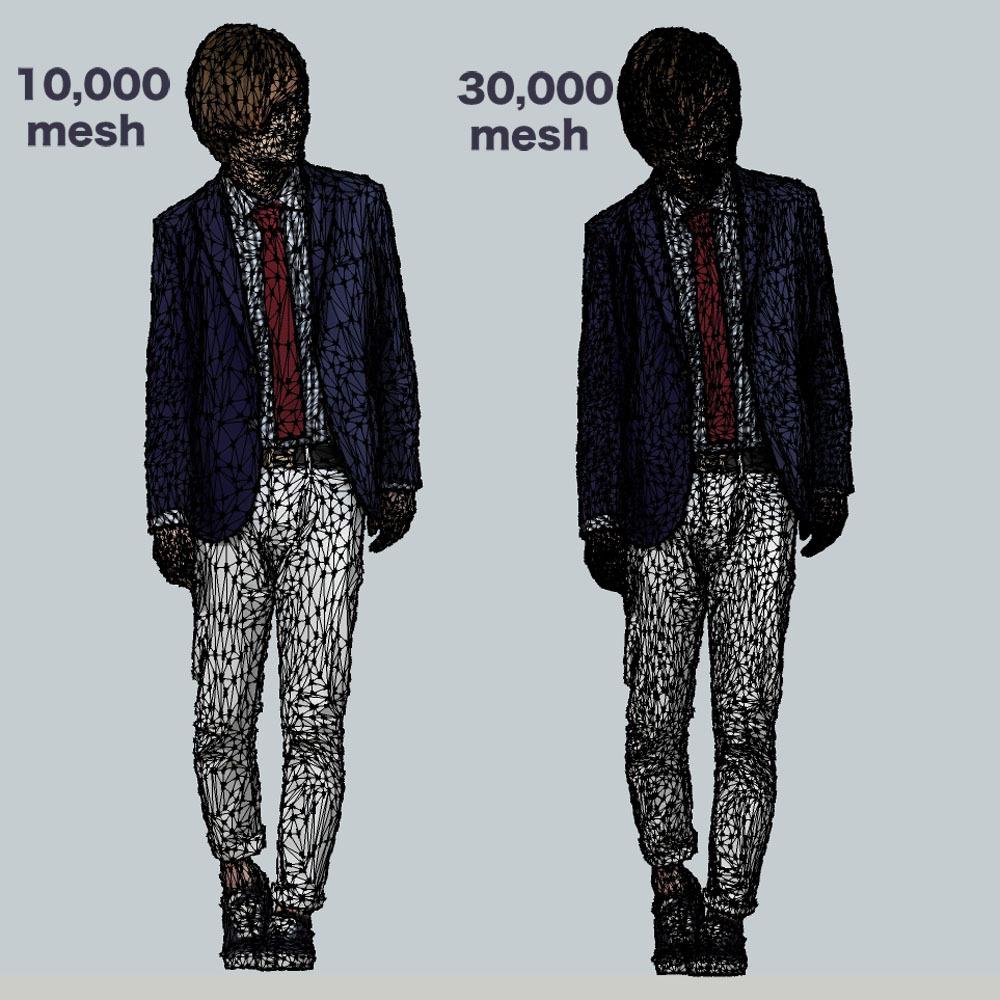 SketchUp素材 3D人物モデル ( Posed ) 083_Ren - 画像3