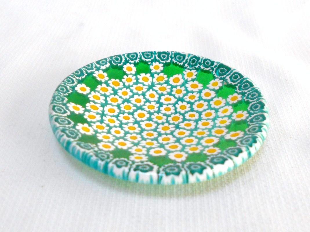 ミルフィオリ小皿 6cm