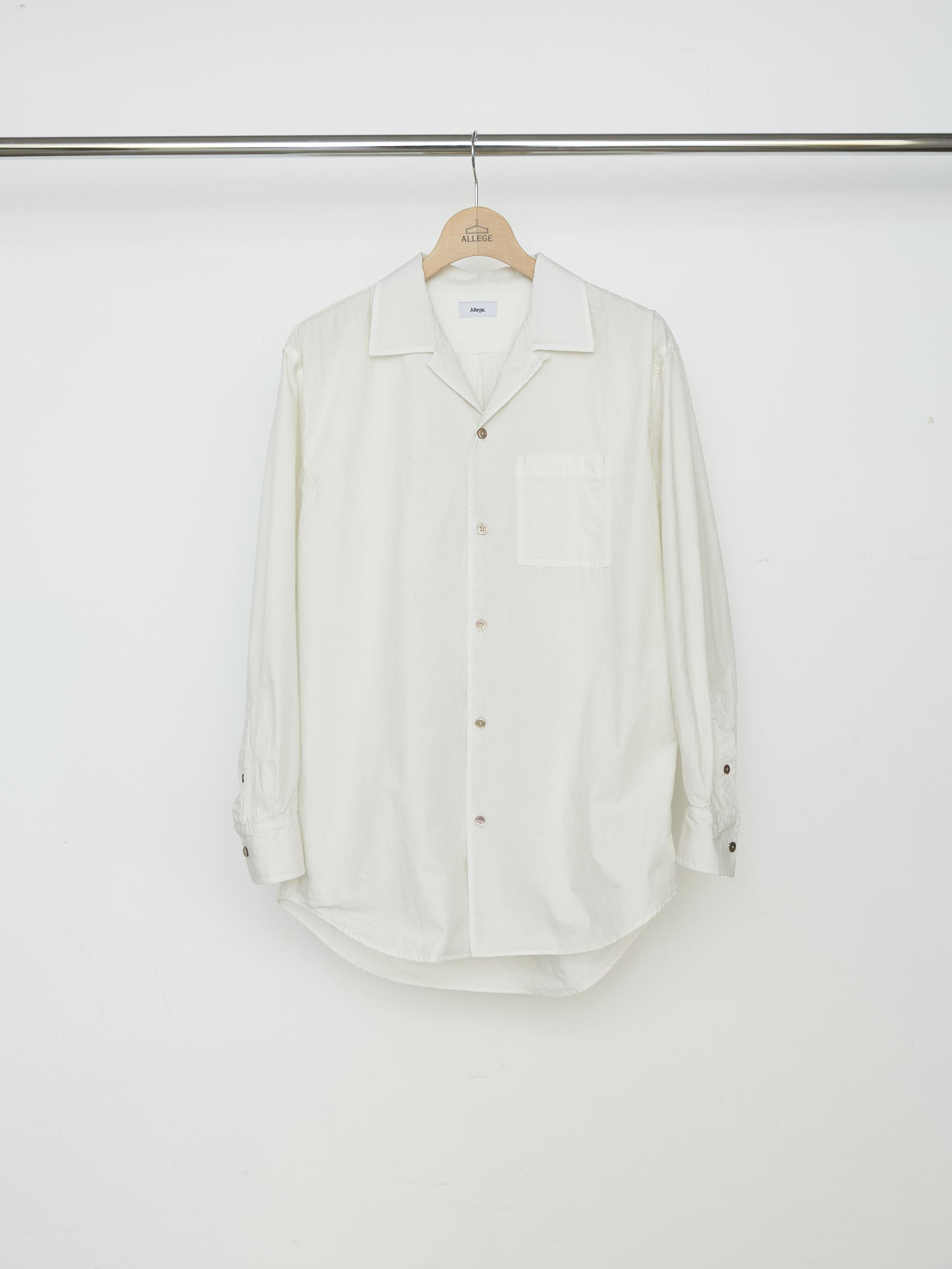 Pigment Dye OP Shirt - OFF