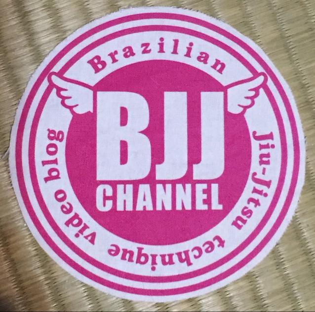 BJJチャンネルパッチ ピンク