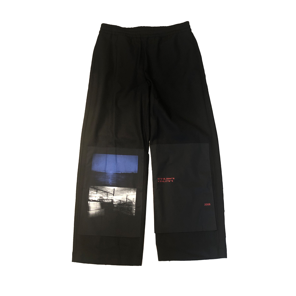 ALMOSTBLACK Easy Trousers