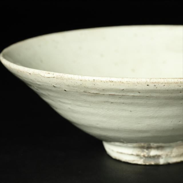 小林東五 作 粉吹平茶碗