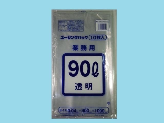 US-36 透明    厚手 0.04mm 90L 300枚