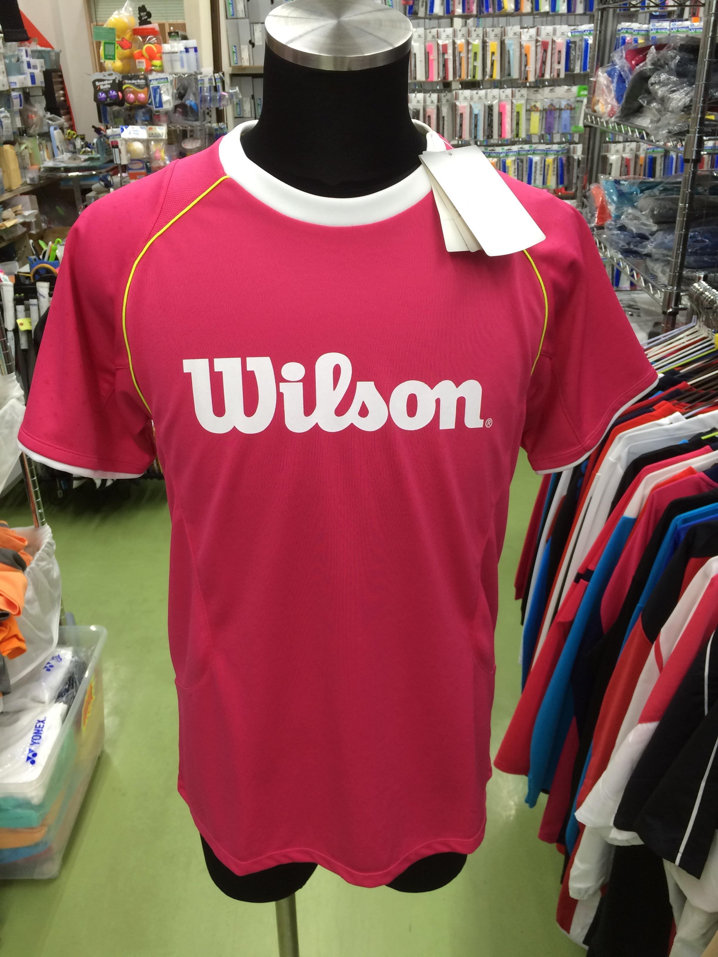 ウィルソン Tシャツ WRJ4402MG - 画像1