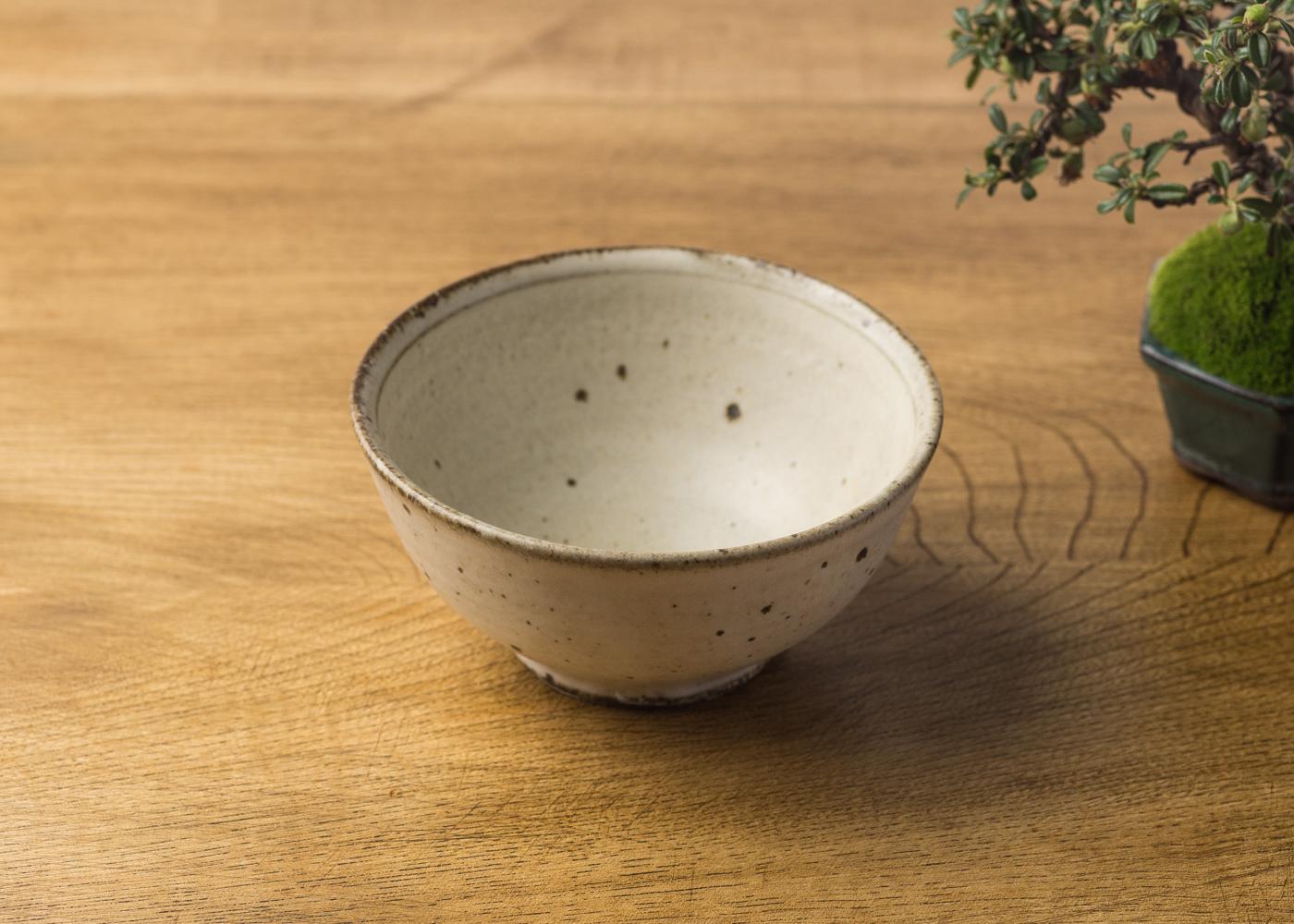 粉引 飯碗(小)3/くるり窯