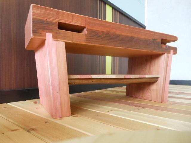古材 ローテーブル03 - 画像3