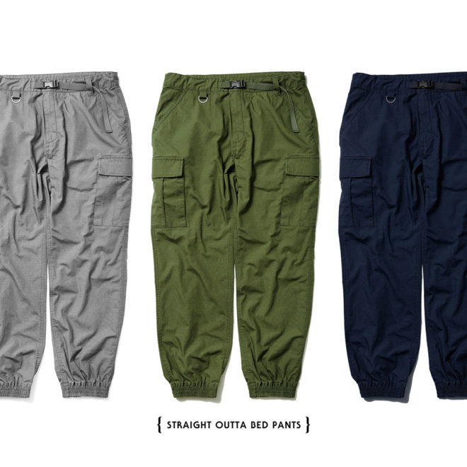 【Evisen Skateboards ゑ】STRAIGHT OUTTA BED CARGO PANTS