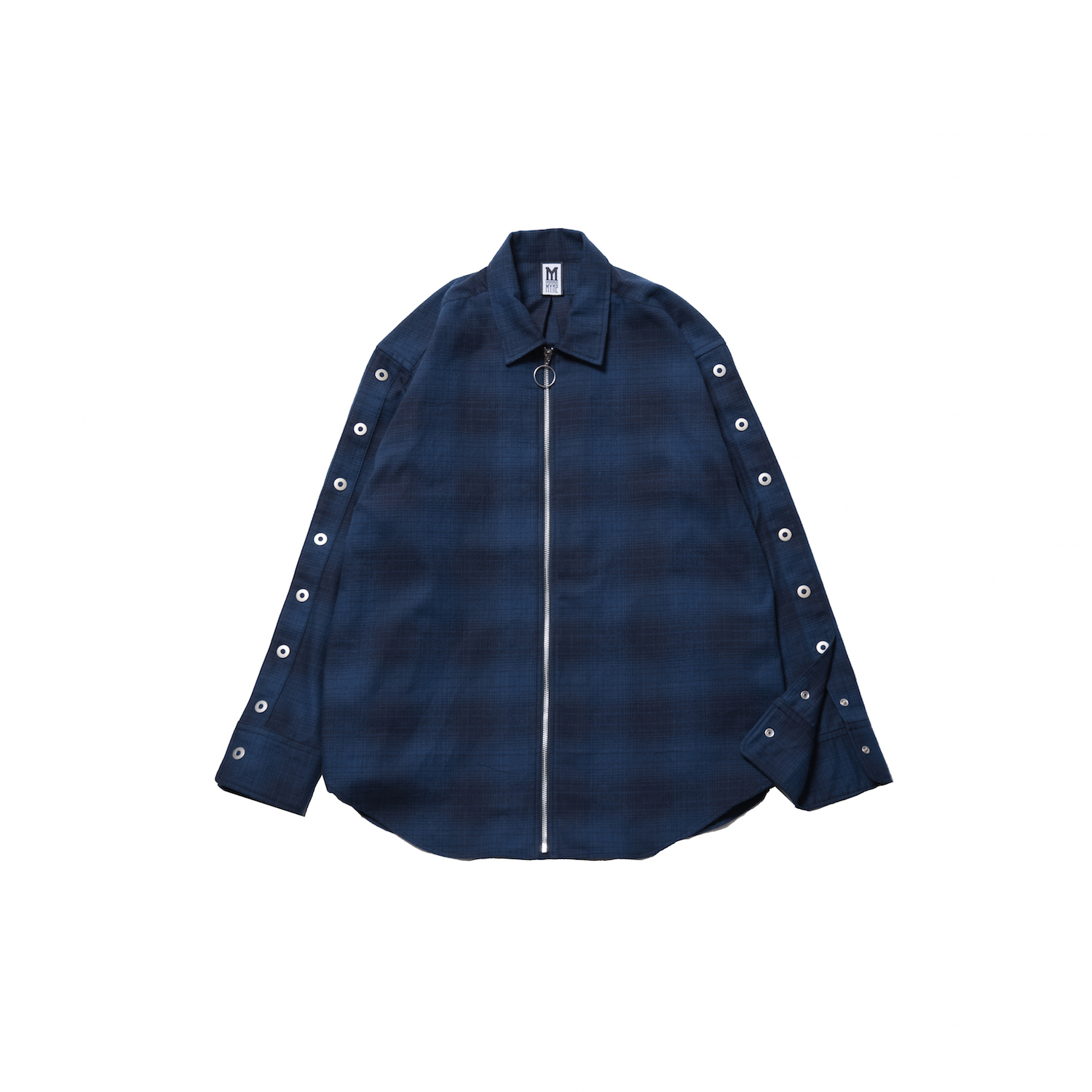 CHECK RING ZIP-UP SHIRTS  - 画像3
