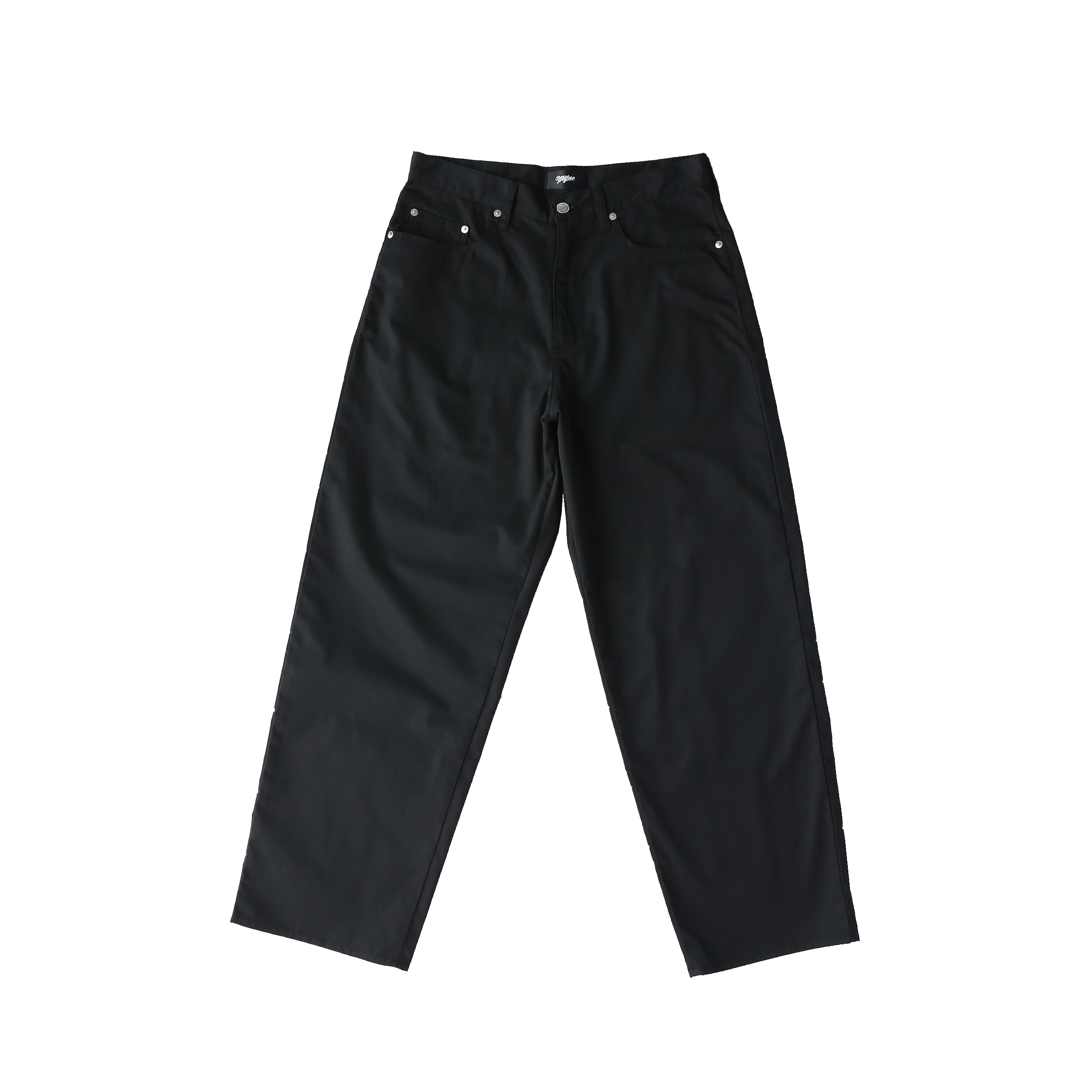 Wappen baggy pants / BLACK - 画像1