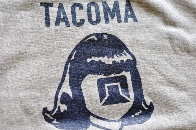 TACOMA FUJI RECORDS  LOGO MARK SWEAT SHIRT