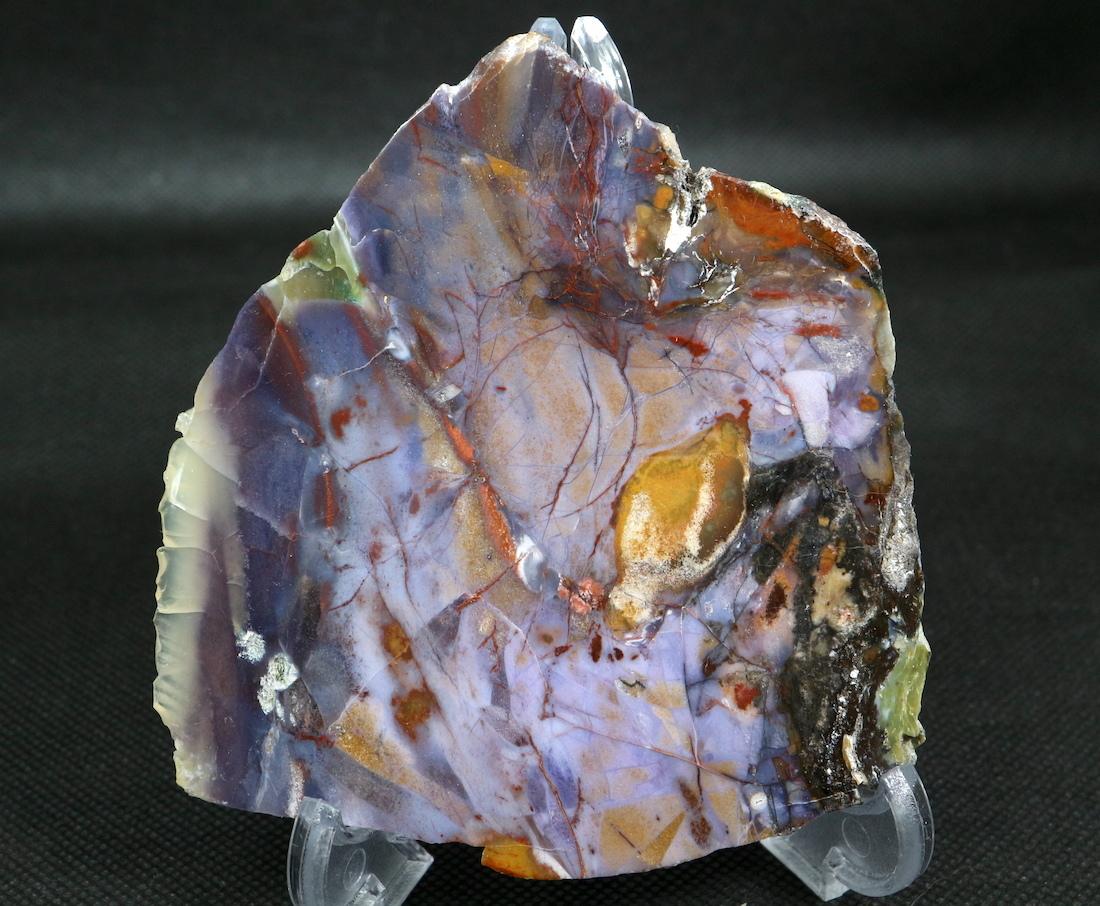 希少!パープル カウ アゲート 原石 オレゴン州産 121,9g 鉱物 AG077 天然石 パワーストーン