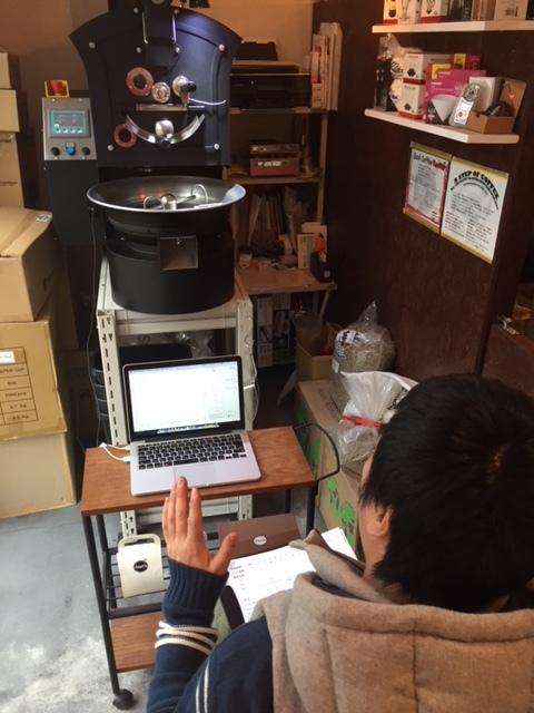コーヒー焙煎ワークショップ 12/8(土)