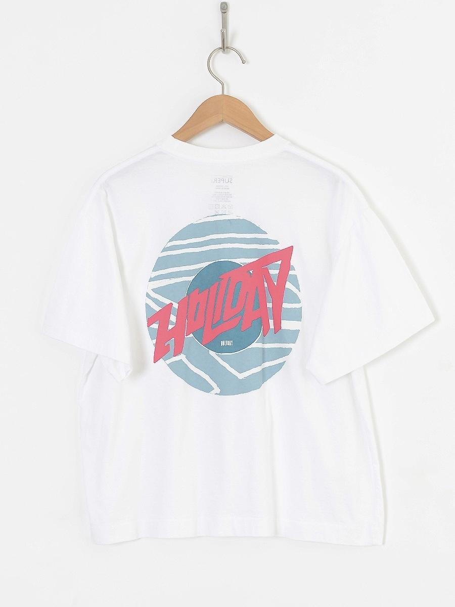 【HOLIDAY】SUPER FINE T-SHIRT(CIRCLE LOGO)