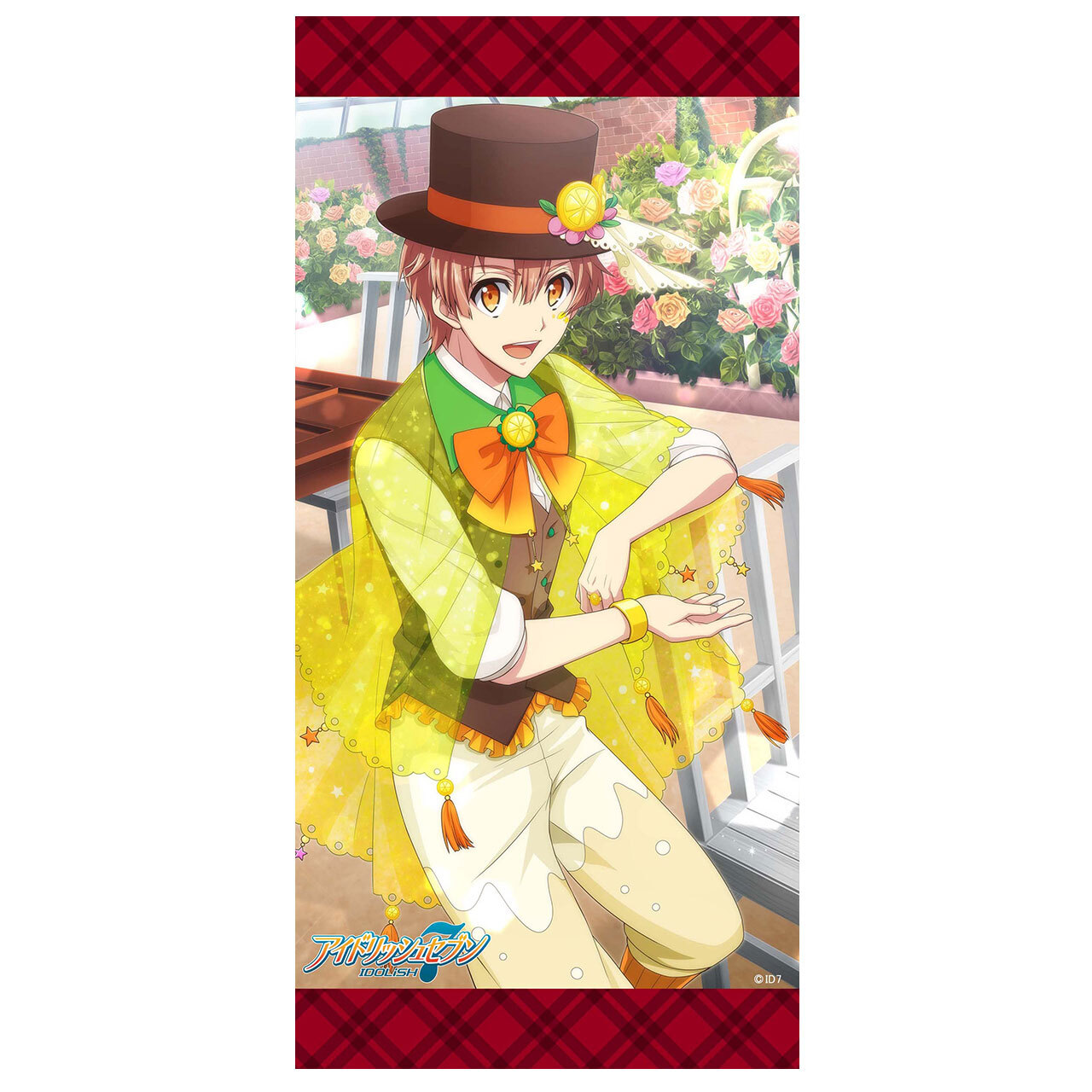 【4573155987190在.】アイドリッシュセブン【お菓子】ミニタペストリー 和泉三月