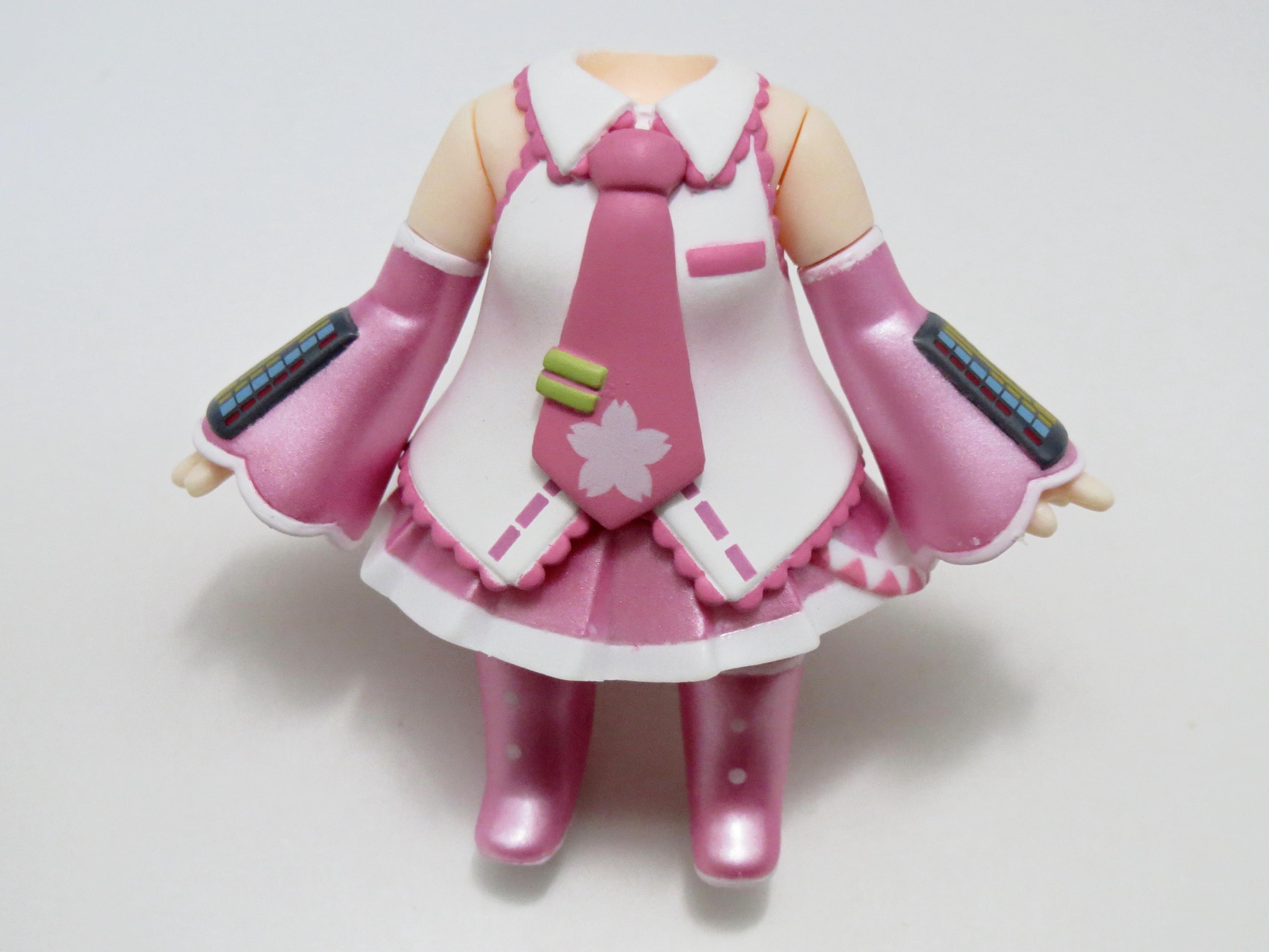 【SALE】【274】 桜ミク 体パーツ 桜ミク衣装 ねんどろいど